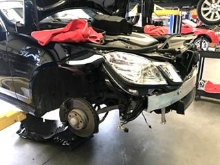 Mercedes-Benz Headlight Repair