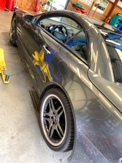 Mercedes Benz SL65 AMG Brake Service