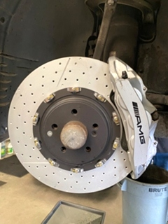 Mercedes Repair Mercedes Benz SL65 AMG Brake Service