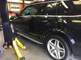 Mercedes Benz GL550 Repair