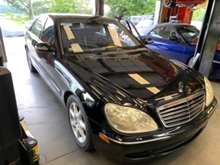 Mercedes Benz S500 Repair