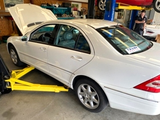 Mercedes Benz C240 Repair